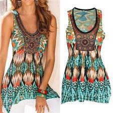 Women Fashion Summer Vest Top Sleeveless Shirt Blouse Casual Tank Tops T-Shirt