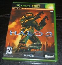 HALO 2 MICROSOFT XBOX VIDEO GAME BRAND NEW FACTORY SEALED BLACK LABEL (A)