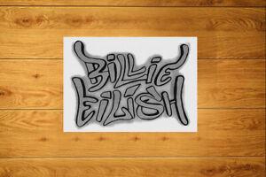 Billie Eilish Graffiti Tag Sticker Packs (10-100) - Stylized Personal Signature