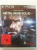 !!! PLAYSTATION PS3 SPIEL Metal Gear Solid V USK18, gebraucht aber GUT !!!