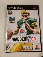 PS2 EA Sports Madden NFL 09 Playstation 2