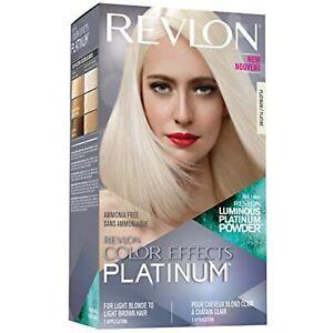 Revlon Color Effects Hair Color, Permanent Platinum Blonde Hair Dye with