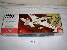 Vintage 1964 Hawk 1/48 Scale McDonnell F2H-2 Banshee Model Kit 501-100