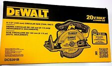 NEW IN RETAIL BOX Dewalt DCS391B 20V Cordless Battery Circular Saw 20 volt