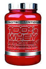 Scitec Nutrition 100 Whey Protein Professional 920g Plus1 Shaker Vanilla
