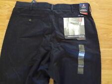 "Men's ""Chaps"" Size 36x34, Dark Blue Classic, Straight, Flat Front, Pants"