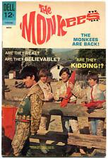The MONKEES #10, FN/VF, Dell, 1968, Davie Jones, Peter York, more TV in store