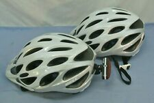 BELL TRAVERSE HELMETS * LOT OF 2 * XL BIKE BICYCLE WHITE SILVER BLITZU