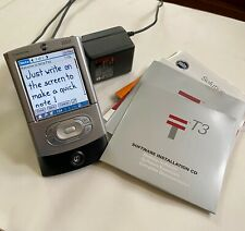 Palm Tungsten T3 - Works Great - Silver - With Cradle and Original Manuals