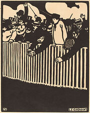Felix Vallotton Reproductions: Le Gagnant - The Winner - Fine Art Print