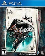 NEW  --  Batman: Return to Arkham - Sony PlayStation 4 PS4 Asylum City GOTY