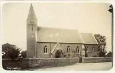 REAL PHOTO POSTCARD OF THE CHURCH, SYKEHOHSE, (NEAR DONCASTER), WEST YORKSHIRE