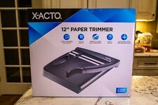 "X-Acto 12"" Guillotine Trimmer Black (26232) 818674"