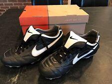 separation shoes 1bb32 a3d95 NIKE Tiempo Mystic FG Soccer Cleats Size 6 Black White NIB  310115-011