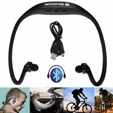Black Stereo Wireless Bluetooth Headset Headphones Sport for iPhone iPad Samsung