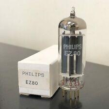 EZ80 PHILIPS GOLD PIN NOS VALVE/TUBE