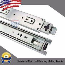 "65 PCS 20"" Heavy Duty 3-Section Ball Bearing Sliding Rail 150 lbs"