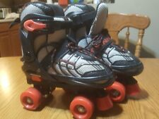Schwinn Youth Button Adjustable Roller Skate Size 1to4 Model Sc082S Super Clean