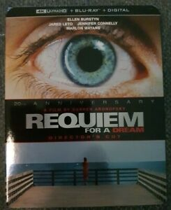 Requiem For A Dream Director's Cut 4K + Blu-ray (2 Disc Set) Brand New Sealed