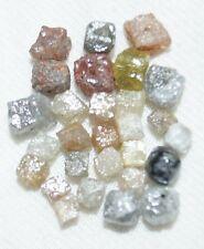 5.0 ct 3.0-4.0 MM NATURAL CONGO CUBES ROUGH LOOSE DIAMOND MIXED COLOR UNCUT nr