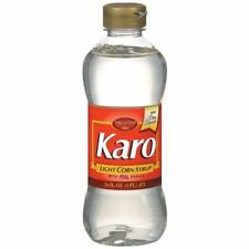 Karo Light Corn Syrup With Real Vanilla 16 oz Bottle