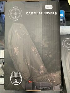 Set of 2 Nash Scope Car Seat Covers NEW Fishing Car Seat Covers - T3698 FREE p&p