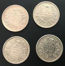British India 1/4 Rupee, 1943 C Uncirculated Silver