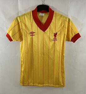 Liverpool AwayFootball Shirt 1981/84 Adults Small Umbro A885