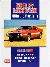 Book of 52 Shelby Mustang Magazine Articles 1965 1966 1967 1968 1969 1970 GT