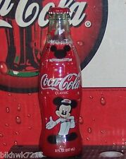 2004 MICKEY MOUSE 75 INSPEARATIONS 8 Ounce glass COCA COLA   BOTTLE