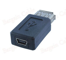 USB 2.0 A Female To Mini B 5 Pin Female Adapter Converter Buy 2 Get 1 Free