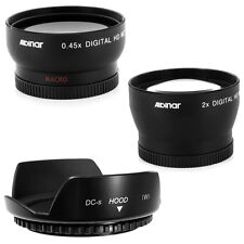 52mm Hood Petal,Wide Angle,Telephoto Lens for Canon Rebel T4i T3i T3 T2i T1i XTi