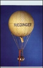 AK Freiballon anno 1900 DDR PK Verkehr Museum Dresden Ansichtskarte Postkarte