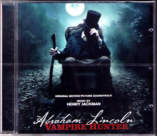 ALBRAHM LINCOLN VAMPIRE HUNTER Henry Jackman OST Soundtrack CD Timur Bekmambetov