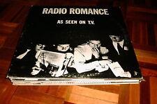"RADIO ROMANCE - AS SEEN ON TV 12"" LP NEW WAVE USA"