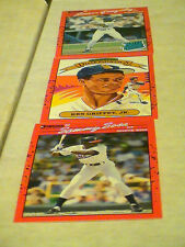 [3] -1988-1989-1990 Donruss Baseball sets