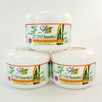 Avanti Silicon Mix Bambu Bamboo Nutritive Hair Treatment Mask, Set of 3 (8 oz)