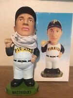 Pittsburgh Pirates Bill Mazeroski Stadium Bobble Head Giant Eagle/ Keebler NIB