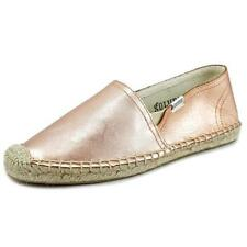 Chaussures roses en cuir pour fille de 2 à 16 ans
