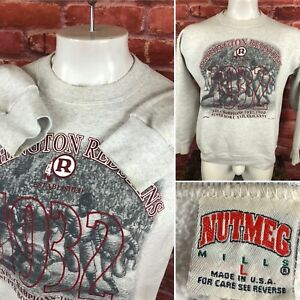 Vintage 1994 Redskins Crewneck Sweatshirt Men's Large Nutmeg Made In USA B24