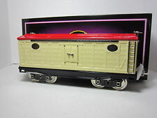 MTH TINPLATE TRADITIONS 10-2048 NO. 214R REEFER CAR