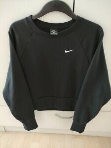 Nike Sweatshirt Laufshirt Schwarz, Gr.S