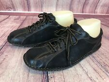 BORN Womens Size 9.5/ 41 Black Leather Oxford Shoes # W31015 Lace Up e2g