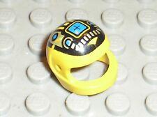 Casque LEGO yellow minifig helmet ref 2446px4 / Set 1787 6705 6991 1793 1789 ...