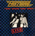 Fastway Vinyl LP Live - Say What You Will Blue Blue -Receiver-RRLP 147-M/M