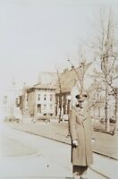 Vintage Photo 1940s Indianapolis Indiana Soldier in University Park