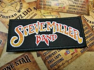 EMBROIDERED STEVE MILLER ROCK BAND PATCH