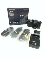 Panasonic Lumix DMC-LX5 Digital Camera (Black)
