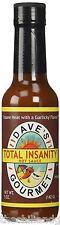Dave's Total Insanity Hot Sauce - 5 fl oz