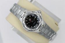 Tag Heuer Black WL1312.BA0709 Kirium Watch Womens Mint Crystal Professional